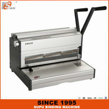 YeaSUPU Calendary Binding Machine Wire Binding Machine 20rs Factory Model CW430