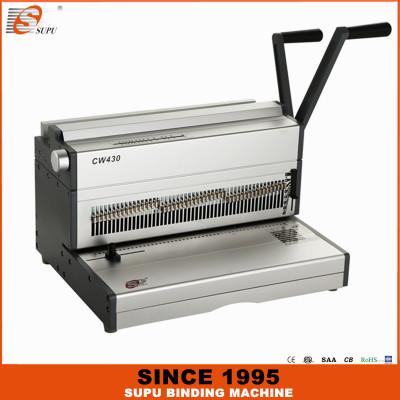 SUPU Calendary Binding Machine Wire Binding Machine A3 size CW430