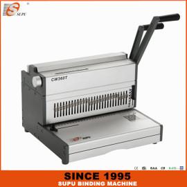 SUPU Manual Wire Binding Machine Maximum Punching Thickness 35 Sheets Width 360MM CW360T