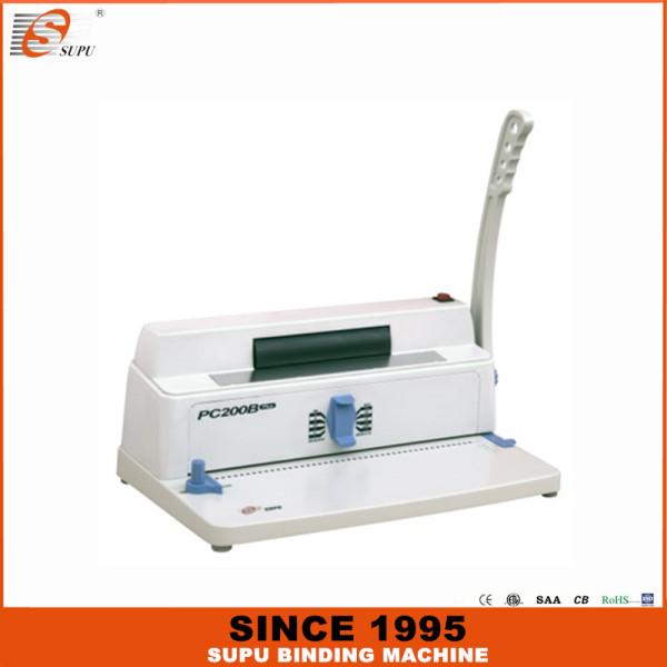 SUPU Спиральная машина для переплета PC200B PLUS