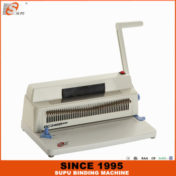 SUPU manual spiral binding machine PC246B PLUS