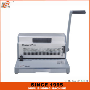 SUPU Heavy duty manual punching and electric spiral binding machine (SUPER47 PLUS)