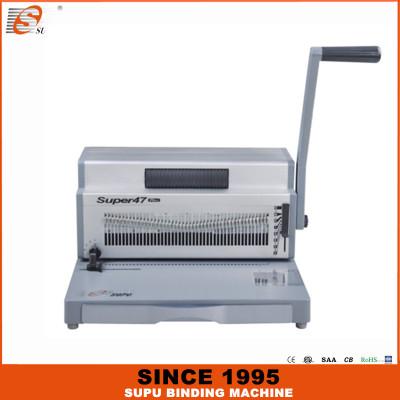SUPU Heavy duty manual punching and electric spiral binding machine (SUPER47 PLUS)