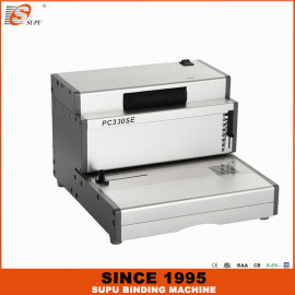 SUPU Electric Single Spiral Coil Binding Machine for office use PC330SE