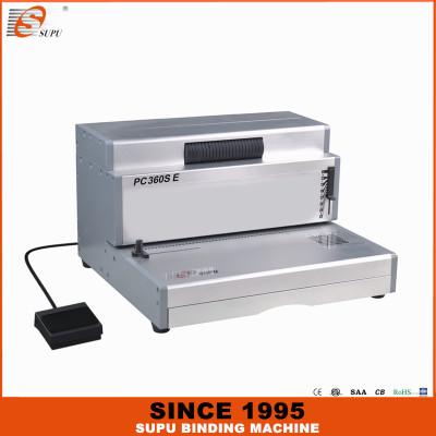 SUPU Electric Single Spiral Coil Binding Machine PC360SE