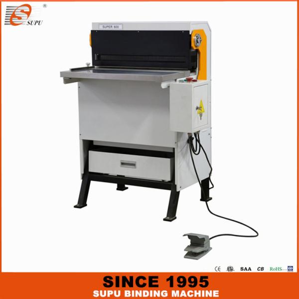 Промышленная машина для пробивки бумаги SUPU со сменными матрицами SUPER600