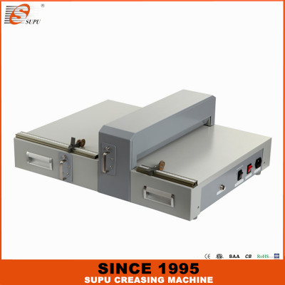 Electrical Hard Cover Creasing and Perforating Machine (E460)