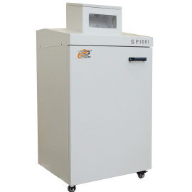 Commercial cross cut paper shredder