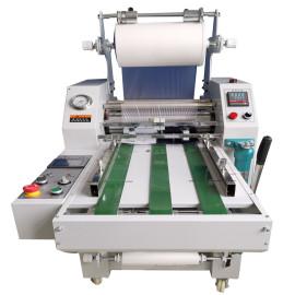 490mm hydraulic roll laminator with auto overlap & cutting systems HL-500YA