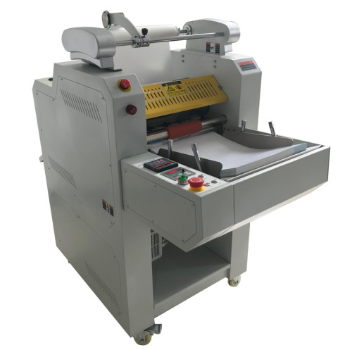 Automatic laminating machine with auto feeder and auto breaking systems FM-390A