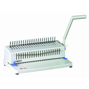 máquina de encuadernación de peine CB221