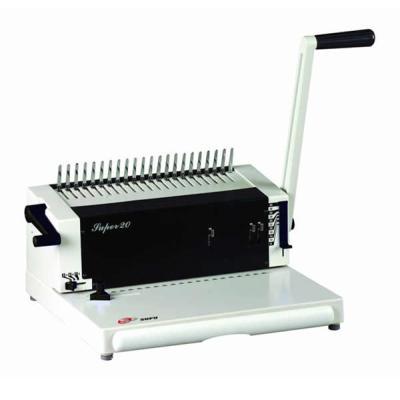 máquina de encuadernación de peine SUPER20