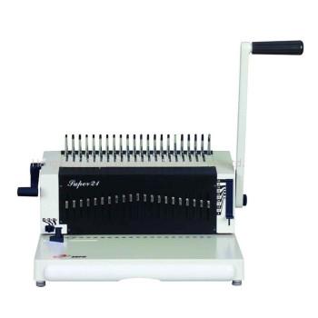 máquina de encuadernación de peine SUPER21