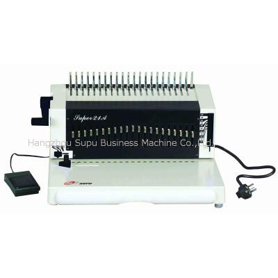 máquina de encuadernación de peine SUPER21A