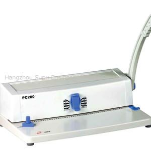 Máquina de encuadernación de unicoil PC200