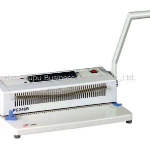 Máquina de encuadernación de unicoil PC246B