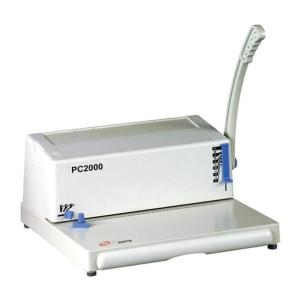 Máquina de encuadernación de unicoil PC2000