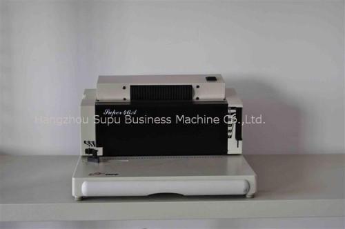 Máquina de encuadernación de unicoil SUPER46A