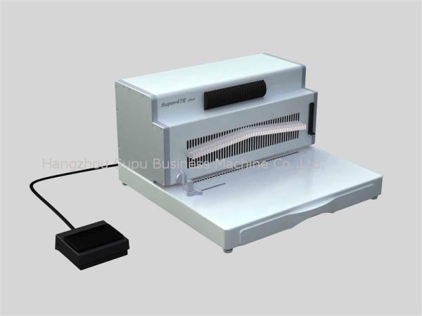 Máquina de encuadernación de unicoil SUPER47E