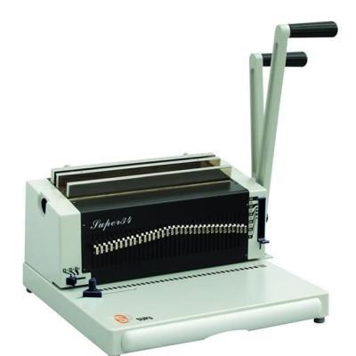 máquina de encuadernación de anillo de hierro SUPER34