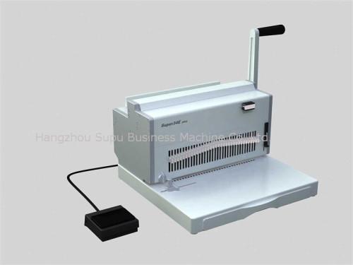 máquina de encuadernación de anillo de hierro,SUPER34E PLUS
