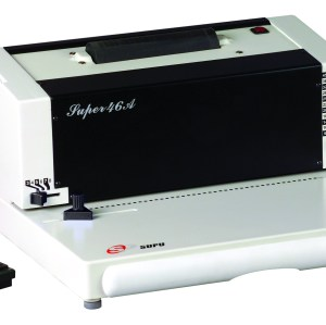 Single coil binding machine