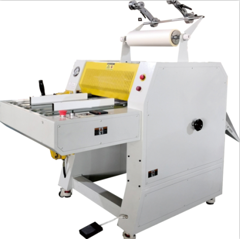 Professional Manufacturer Of 520mm Hydraulic Laminator Machine With Pneumatic Cutter