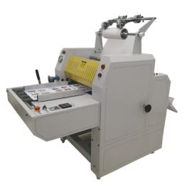 professional manufacturer of 520mm hydraulic laminator machine with Pneumatic cutter HL-520YA
