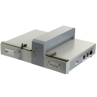 Electric creasing machine and perforating machine