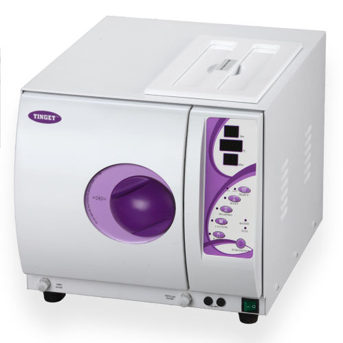 High pressure autoclave class b for 3 methods of sterilization in the salon