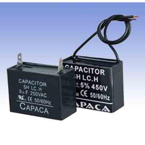 Fan run capacitor china ceiling fan motor capacitor for Capacitor for fan motor