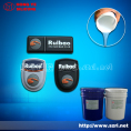 Silicone rubber for trademark