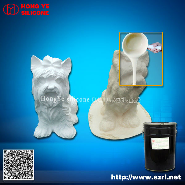 Silicon rubber for gypsum statues mold making