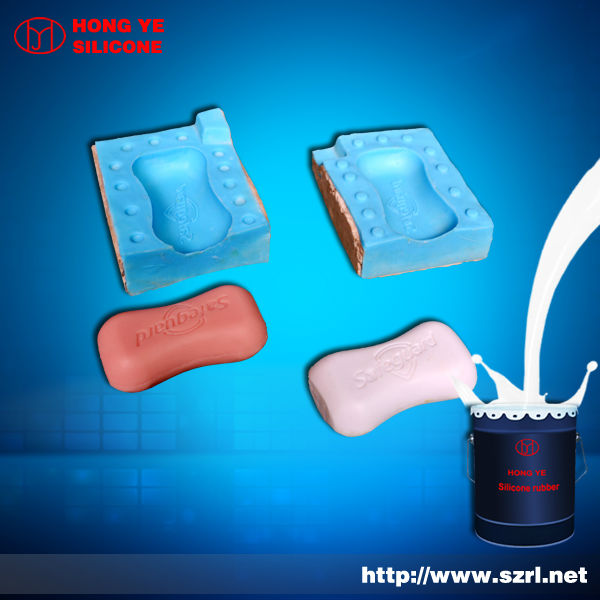easy demould silicone rubber for soap products making