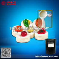 RTV platinum liquid silicone rubber to make resin mold , polyurethane casting