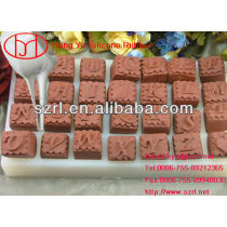 Making food molds using silicone rubber