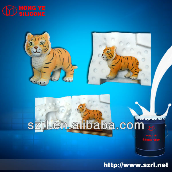 silicone rubber for simulation animal