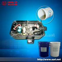 2 electronic potting compound condensation silicon