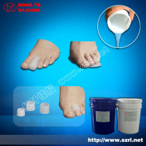 Produce liquid silicone rubber for making shoe insoles
