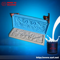 Silicone rubber for gypsum mold making