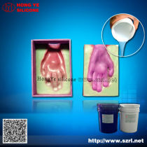 two part silicone rubber