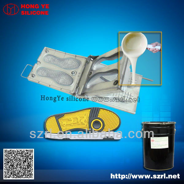 easy to use shoe mold silicone rubber for shoe mold