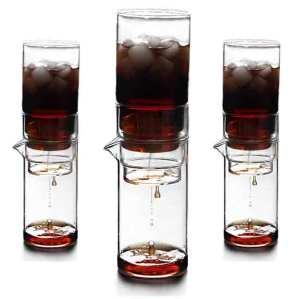 Cafetière en verre borosilicaté non poreux écologique