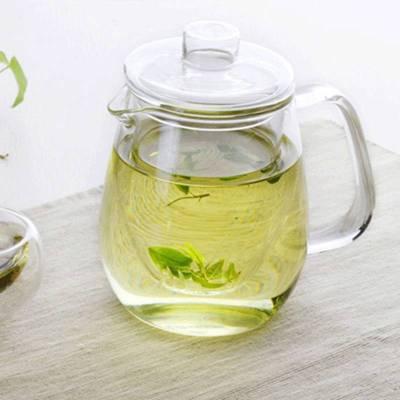 Handgefertigte große chinesische Glas Teetasse