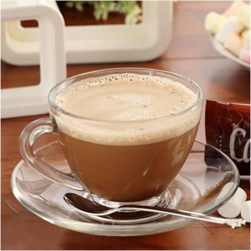 Royal Glass Tea Cups & Untertassen für westliche Restaurants