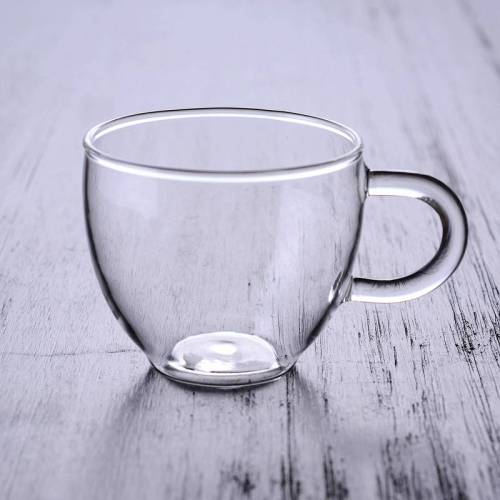 Porzellankugel Einzelglas Teetassen mit Henkel