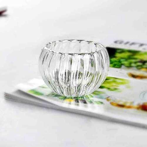 Exquisite 50 ml benutzerdefinierte Borosilikat Mini Glas Teetasse