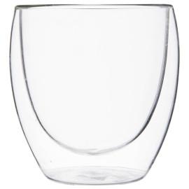 benutzerdefinierte manuelle blasen doppelwandige glas tasse