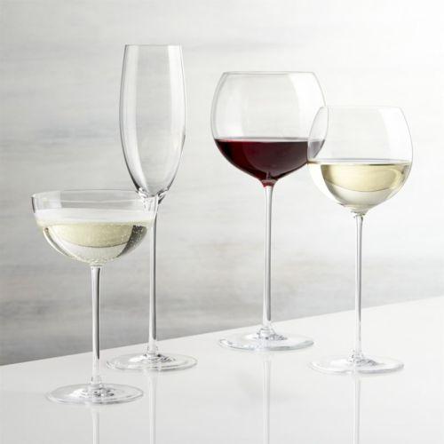 Verre à vin surdimensionné au lave-vaisselle raffiné Champagne Glass