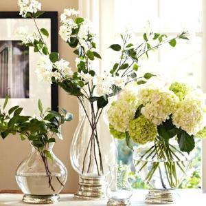 Subly gebogener dekorativer handgemachter Füllerglasvase für Haupt- und Innen- und im Freien